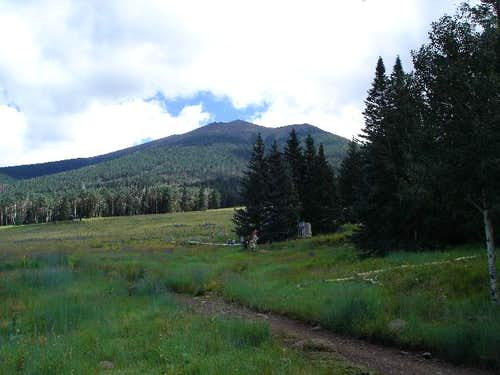 Humphreys Peak from the...