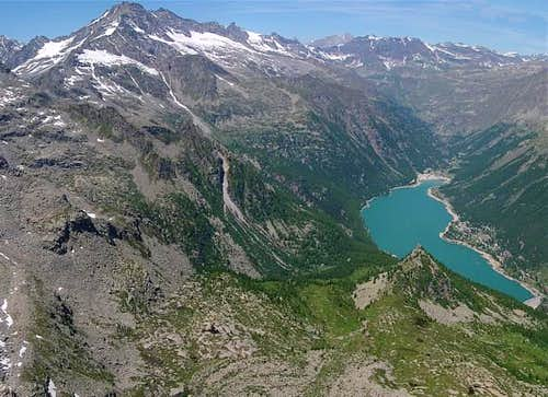 Levanna and Ceresole lake