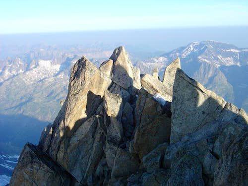 Aiguille du Tour, summit...