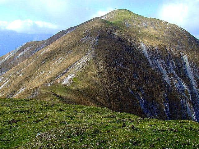 Latschur (2236m) summit from...