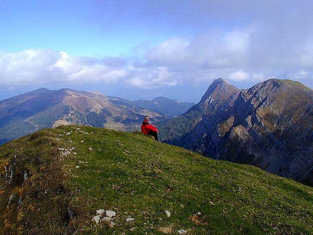 On the summit of Latschur,...