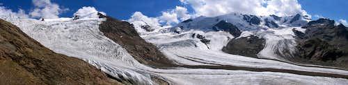 Forni Glacier Panorama
