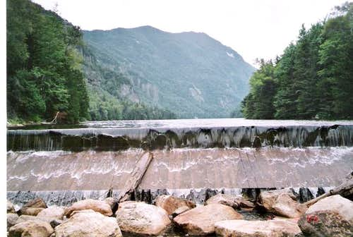 The dam at Lower Ausable...