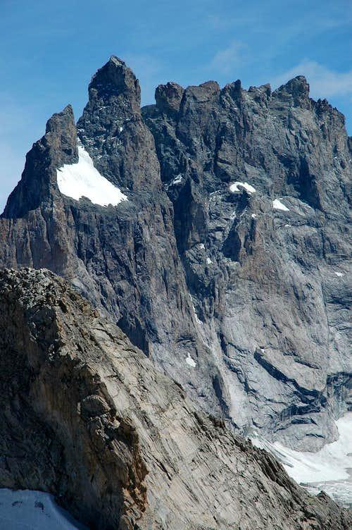 La Meije: Glacier carré and south side