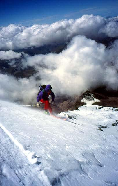 Branko Ivanek skiing from...