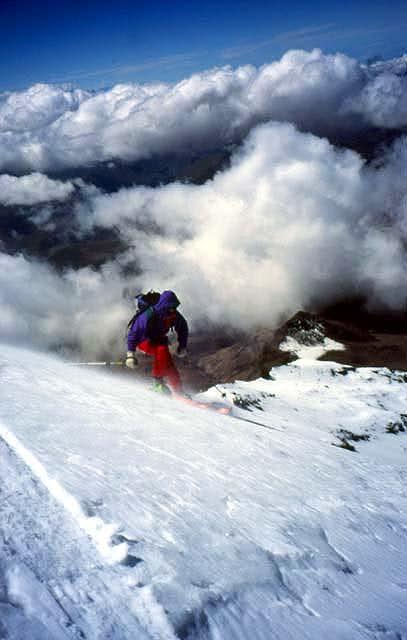 Branko Ivanek skiing from...
