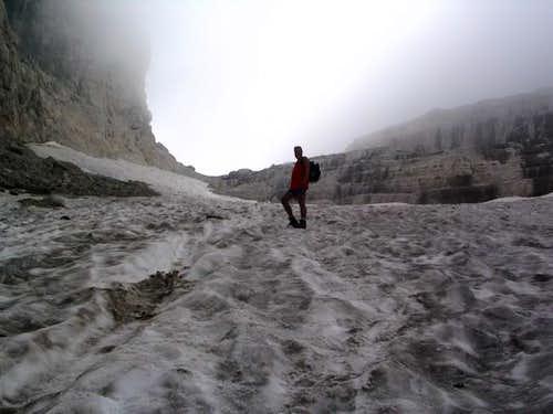 glacier of the bocca del...