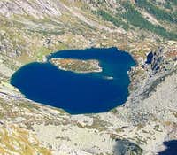 Lake Lazin from Monte Colombo