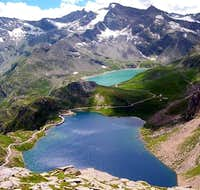 Serru\' and Agnel lakes. The...