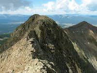West Apostle's west ridge