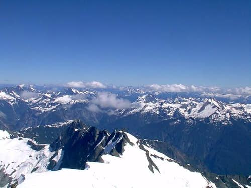 The North Cascades From Mt....