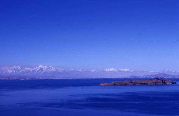 Isla de la Luna, Illampu and...