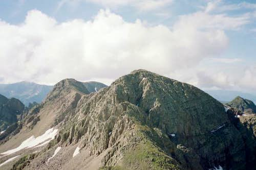 A view of Twilight Peak...
