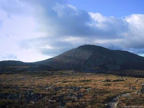The summit cone seen from...