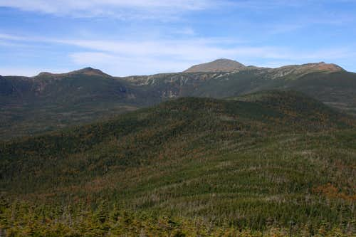Mt Monroe (left of center)...