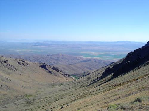 The Arizona Creek Valley with...