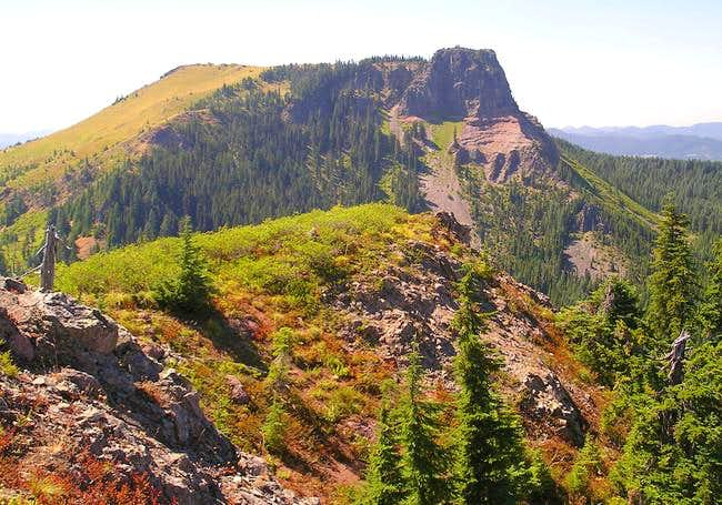 Coffin Mountain as seen from...