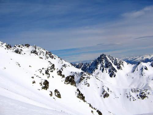 View from near the summit...