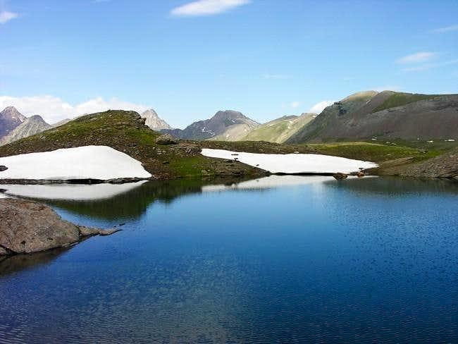 Il lago Doreire Superiore...