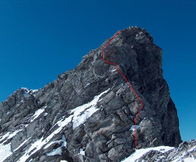 South Face-East Ridge