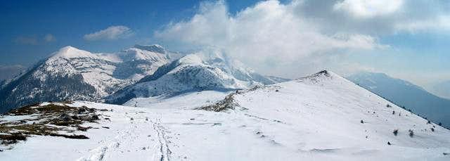 From right: Monte Cornetto,...