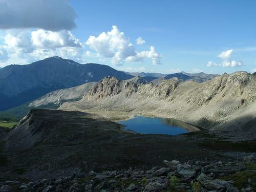 Bear Lake with Mt Yale to the...