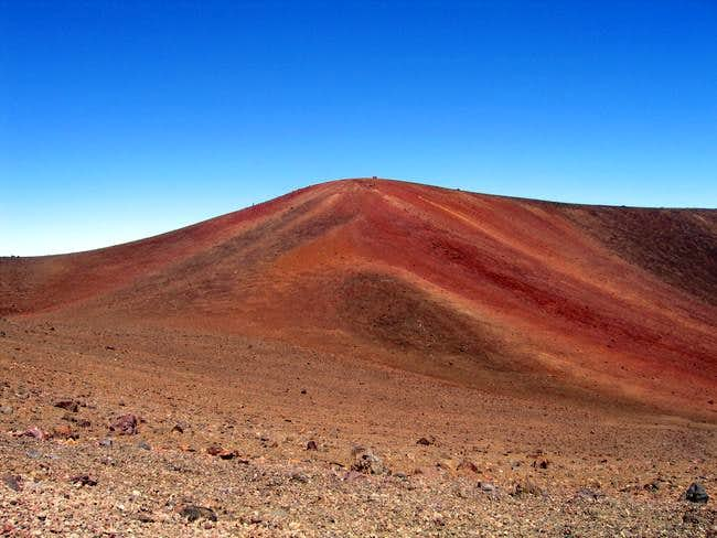 The actual summit of Mauna...