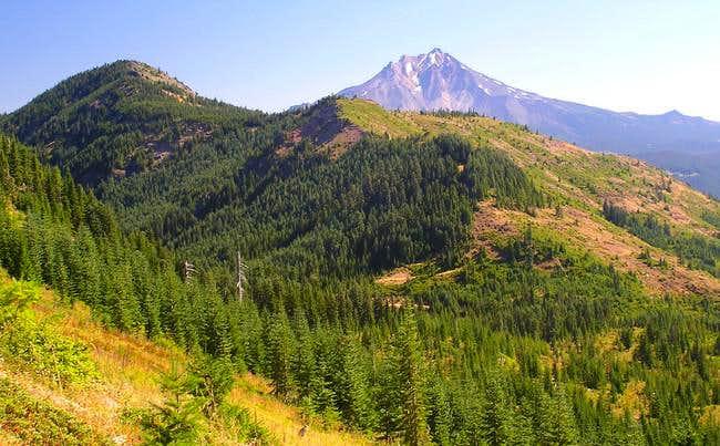 bachelor mountain how tall