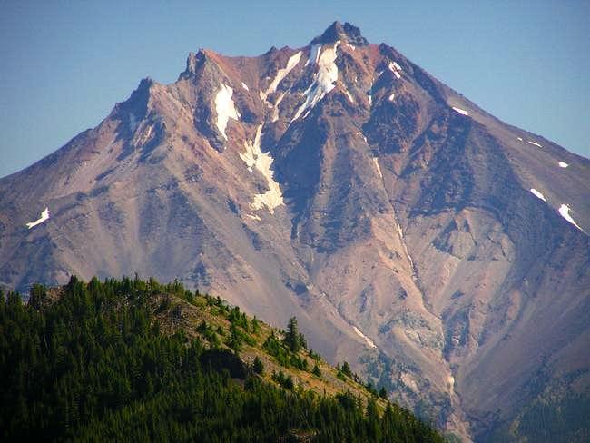 Mighty Mount Jefferson looms...