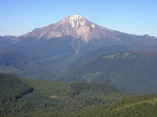 Mt. Jefferson from Bachelor Mountain