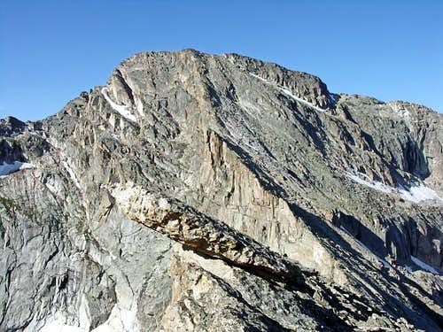 The Northeast Arête from the Arrowhead