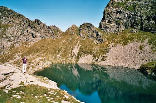 Lago di canee 2190m