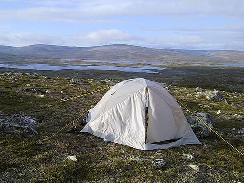 Sleeping in your own tent is...
