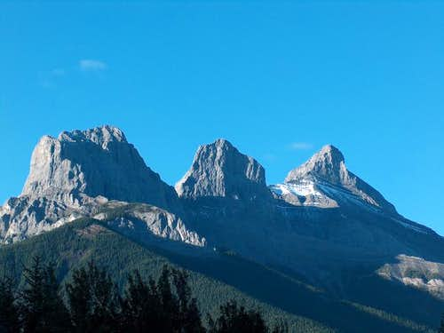 Three Sisters, Canmore,...