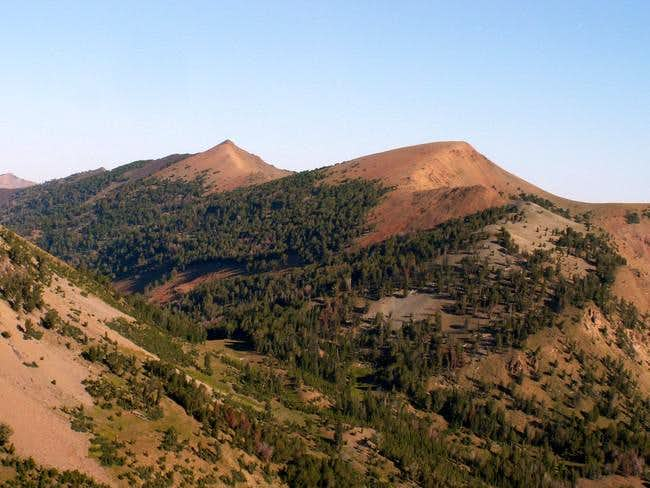 Phi Kappa Mountain (right)...