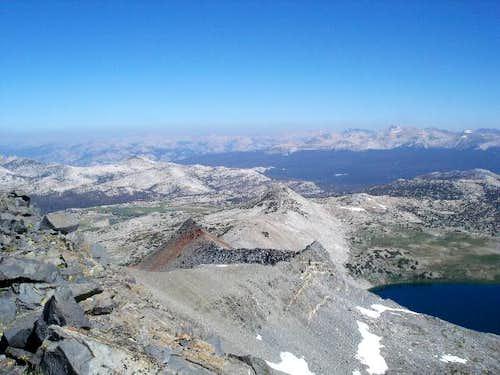 This north ridge of Parsons...