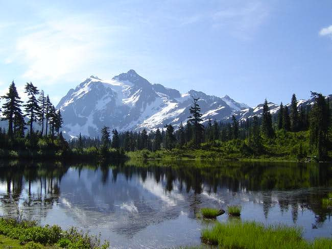 Mount Shuksan from Picture...