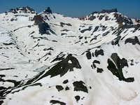 Vermillion Peak, Golden Horn...