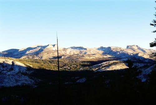 Mt. Hoffmann (L) and Tuolumne...