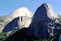Liberty Cap (R) and Half Dome...