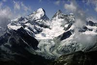 Dent Blanche from the...