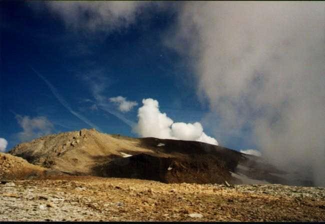 Mount Sommeiller, final slope...