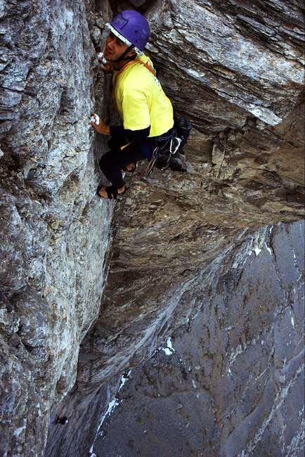 Rock climbing in Stefani