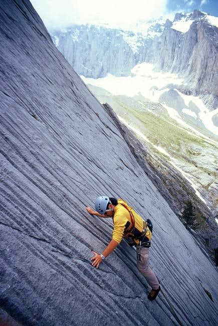 Rock climbing route, Ifaistos...