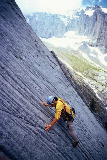 Rock climbing route, Ifaistos...