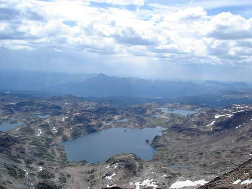 View of Aero Lakes from...