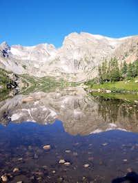 East face of Shoshoni Peak...