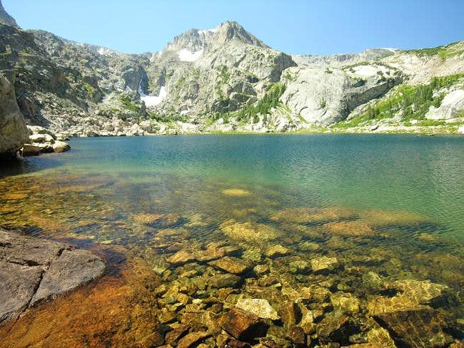 Ouzel Peak from the beautiful...
