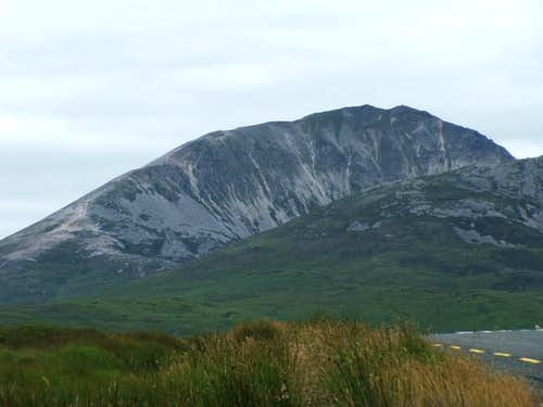 Errigal from the southeast....