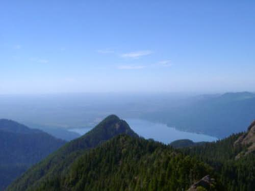 Lake Quinault as seen from...